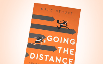 Livre de Marc Bérubé Going the distance